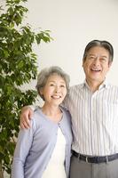 Smiling elderly couple Stock photo [2412124] 2