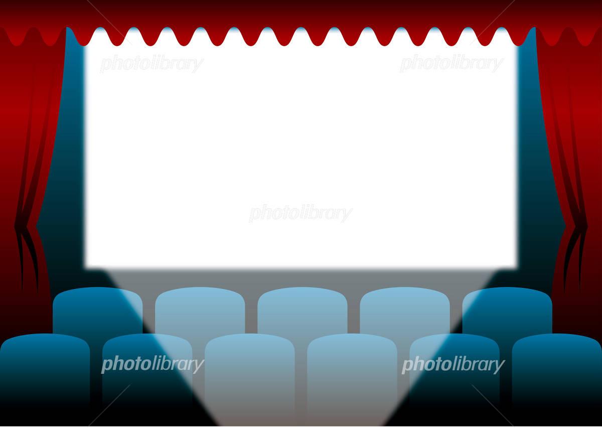 Movie theater イラスト素材
