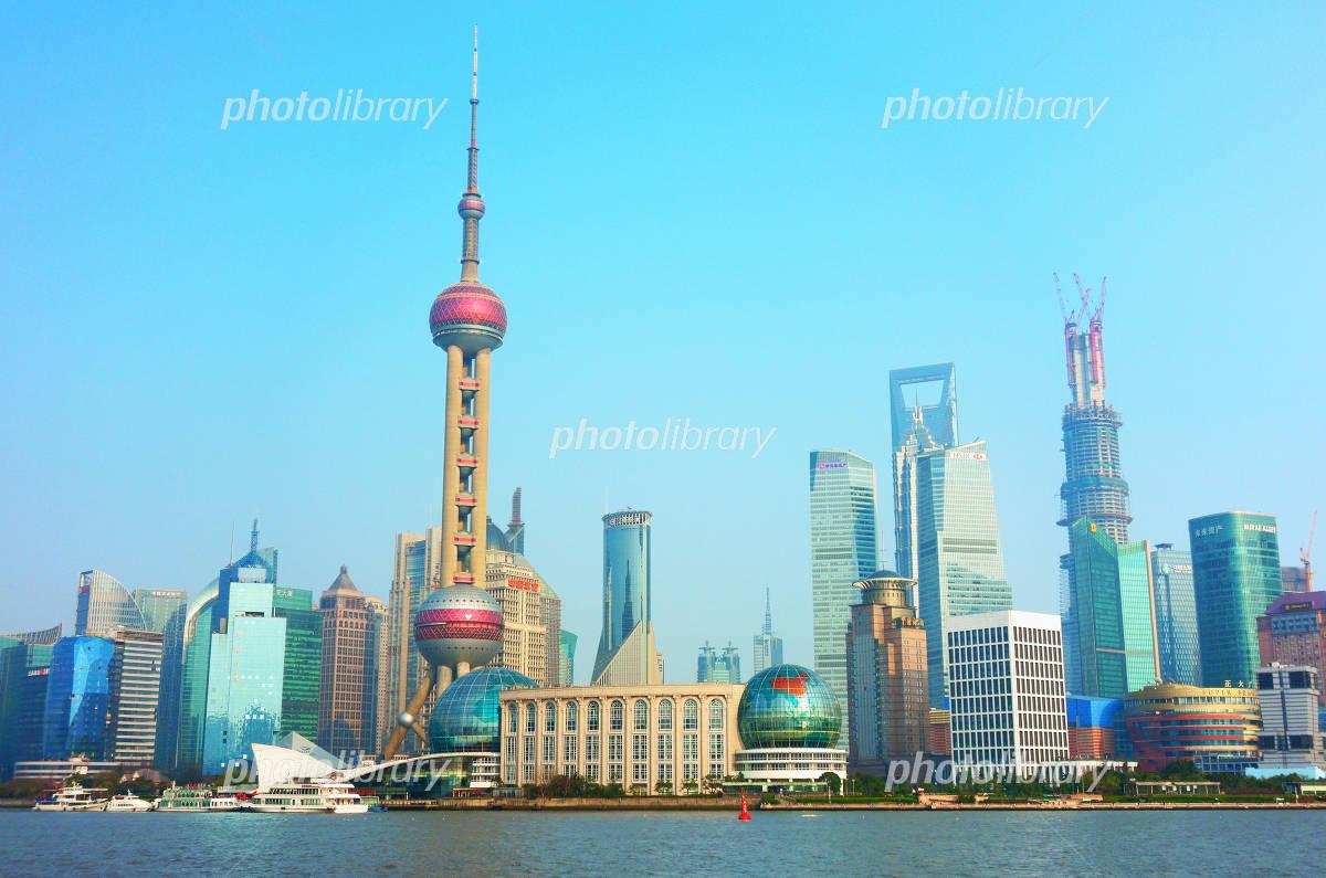 Shanghai skyscrapers Photo