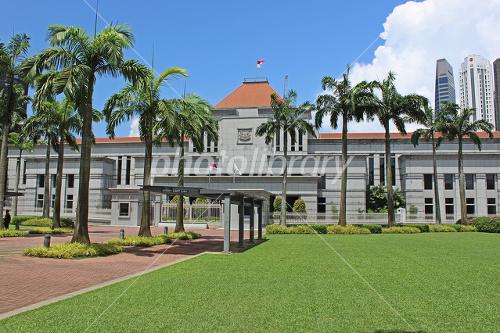 シンガポール国会議事堂 写真素...