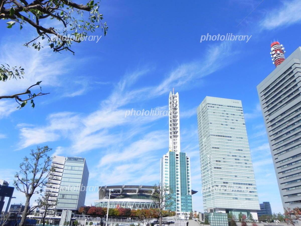 Sky and Kumoto Saitama New Urban Center Photo