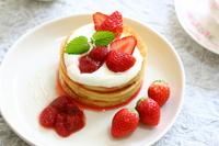 Strawberry pancakes Stock photo [2514979] Pancake