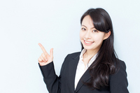 Women Pointing Stock photo [2515040] Female
