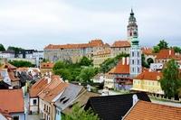 Cesky Krumlov cityscape Stock photo [2516304] Cesky