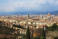 Florence skyline Stock photo [2517758] Florence