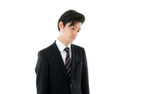 Young businessman who lost the motivation Stock photo [2518558] Business