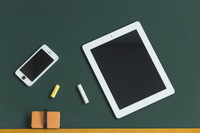 Blackboard and Tablet PC Stock photo [2519939] Blackboard