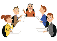Business meetings illustrations [2520044] Business