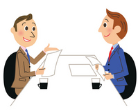 Business negotiation illustrations [2520063] Business