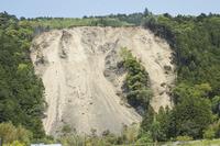 Hamamatsu, Shizuoka Prefecture Tenryu-ku Haruno landslide site Stock photo [2520285] Landslides