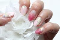 Nail Flower × lame Stock photo [2520319] Nail