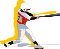 Baseball boy @ batter [2523674] Baseball