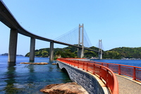 Saga Bentenjima promenade and Yobuko Ohashi Stock photo [2524602] Saga