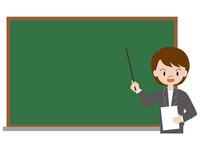 Teacher woman blackboard suit women classroom learning Blackboard
