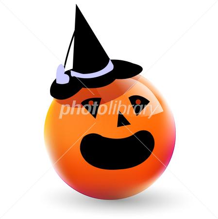 ハロウィン かぼちゃ おばけ イラスト素材 2640284 フォトライブ