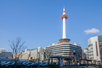 Kyoto Tower stock photo