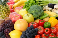 Collection of vegetables and fruits Stock photo [2642219] Vegetables