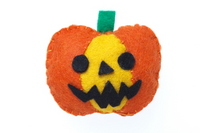 Felt Halloween pumpkin Stock photo [2642998] Halloween