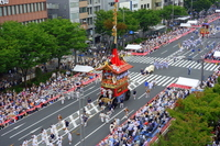 Parade of decorated floats Naginataboko Stock photo [2644385] Gion