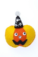 Felt Halloween pumpkin Stock photo [2645138] Halloween