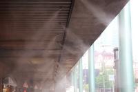 Cool mist shower Stock photo [2645531] Dry