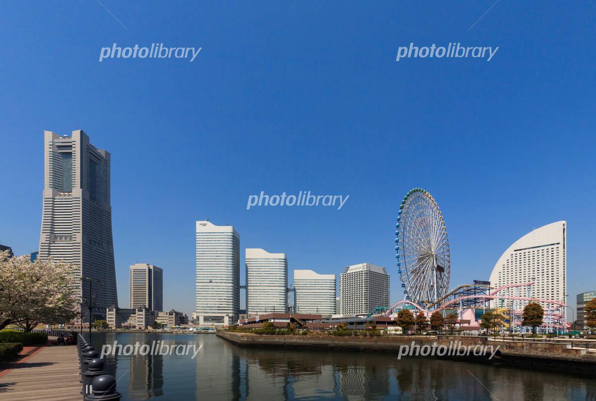 Yokohama Minato Mirai Building group Photo