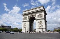 Paris's Arc de Triomphe Stock photo [2722963] Arc