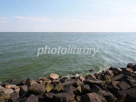 オランダ アイセル湖 写真素材 [...