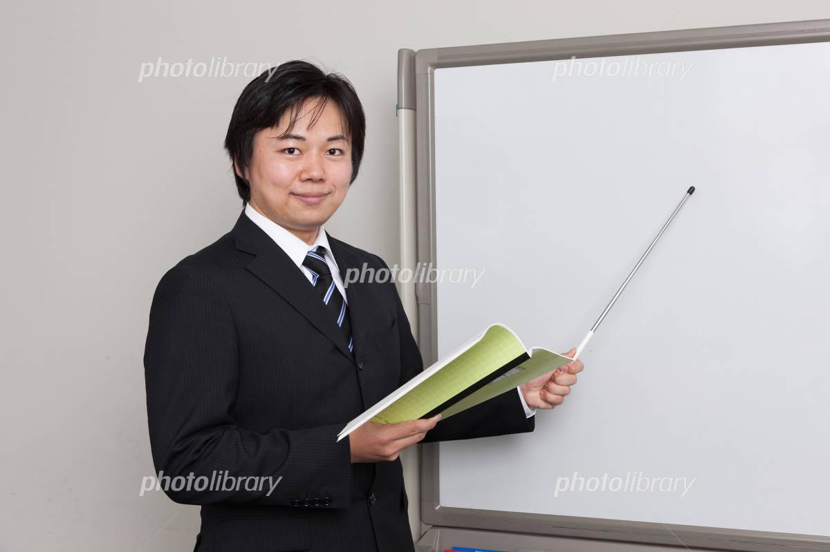 Cram school teacher Photo