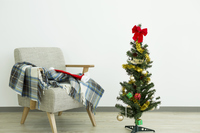 Christmas tree and sofa Stock photo [2806572] Christmas