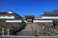 Yamagata Castle Ninomaru Higashiote Gate Stock photo [2807539] Yamagata