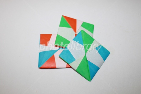簡単 折り紙 折り紙 めんこ : photolibrary.jp