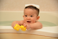 Baby bath Stock photo [2894105] Baby