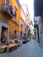 World Heritage Naples street corner Stock photo [2894461] Naples