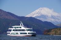 Lake Ashi pleasure boat and Mount Fuji Stock photo [2896498] ASHI-Lake