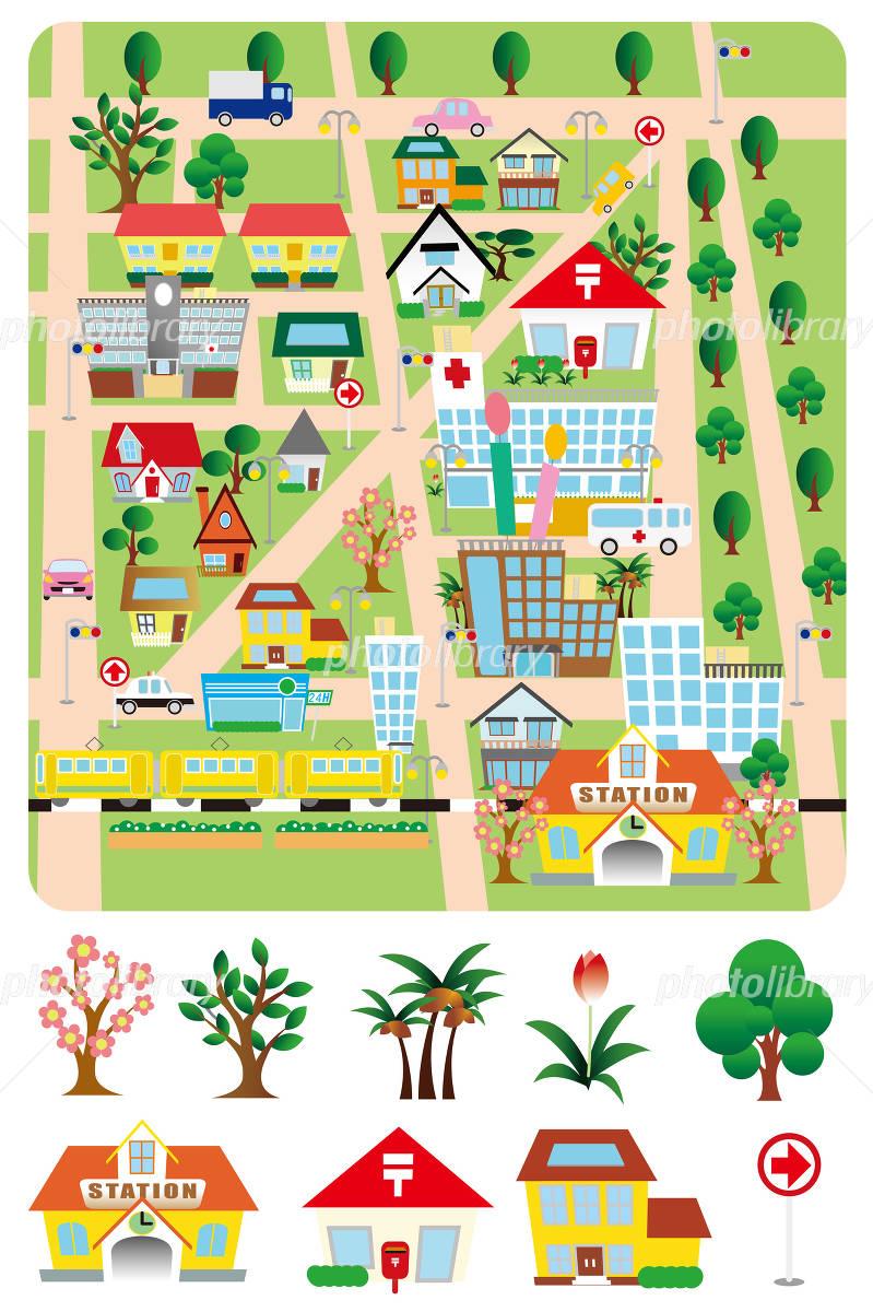地図のイラスト イラスト素材 2983189 フォトライブラリー