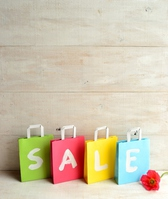 Of pastel color shopping bags and Poppy Stock photo [2974649] Sale