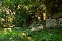 Kannonji Castle Stock photo [2976960] City