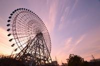 Dusk of Ferris wheel Stock photo [2982476] Ferris