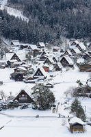 Village of winter of Shirakawa-go Gassho-style Stock photo [2982561] Shirakawa-go