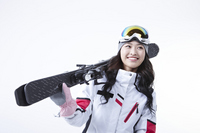 Woman skier Stock photo [3148412] Winter