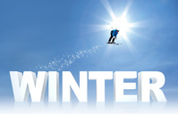 Ski jump Stock photo [3149587] Winter