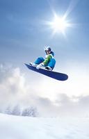 Snowboard jump Stock photo [3149652] Winter