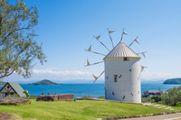 Olive Park Greece windmill Stock photo [3151837] Shodoshima