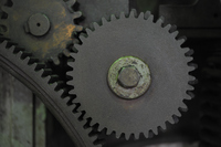 The meshing of the gears Stock photo [3157440] Gear