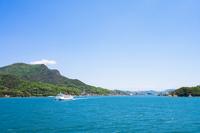 Shodoshima Tonosho Port distant view Stock photo [3157498] Shodoshima