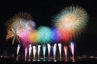 Adachi of fireworks WIDESTAR Main Stock photo [3158124] Tokyo