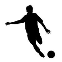 Soccer silhouette [3158442] Football