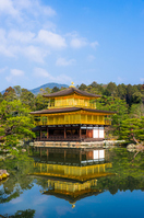 World Heritage Temple of the Golden Pavilion Stock photo [3159489] Kinkaku-ji
