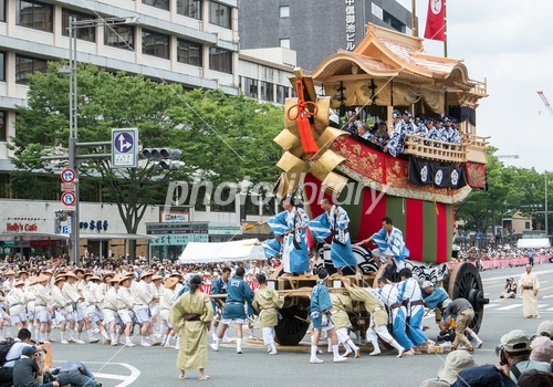 Gion Festival after large Funaboko Tsuji once Photo
